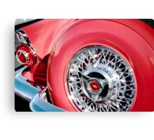 Tail of a T-Bird Canvas Print