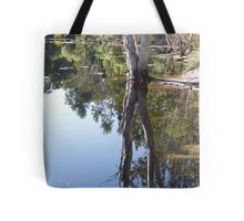 Refecting Trees Tote Bag