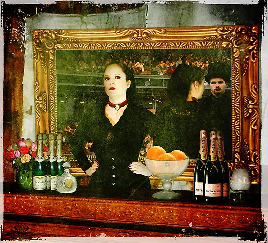Manet's Barmaid Reproduction by Rookwood Studio ©