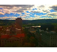 Sunny Town Photographic Print