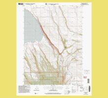 USGS Topo Map Oregon Egli Rim 279764 2004 24000 One Piece - Short Sleeve