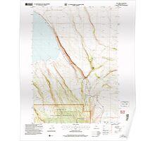USGS Topo Map Oregon Egli Rim 279764 2004 24000 Poster