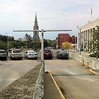 Church Steeple, Binghamton New York by Sergey Kalashnik