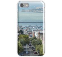 Cable Car Cityscape iPhone Case/Skin