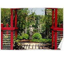 Meditation Garden Poster