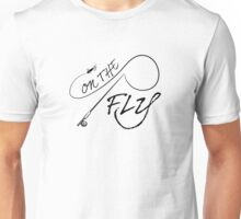 On The Fly rod Unisex T-Shirt