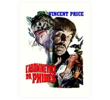 Abominable Dr. Phibes - Vincent Price 1971 Art Print