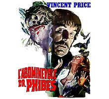 Abominable Dr. Phibes - Vincent Price 1971 Photographic Print