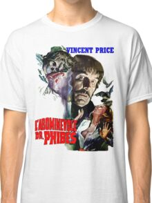 Abominable Dr. Phibes - Vincent Price 1971 Classic T-Shirt
