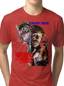 Abominable Dr. Phibes - Vincent Price 1971 Tri-blend T-Shirt
