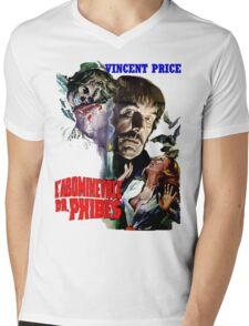 Abominable Dr. Phibes - Vincent Price 1971 Mens V-Neck T-Shirt