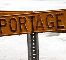 Portage Sign by Taryn Halterman