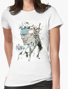 Metal Gear Solid 2: Sons of Liberty  Womens Fitted T-Shirt