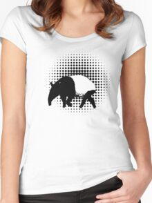 The Majestic Tapir Women's Fitted Scoop T-Shirt