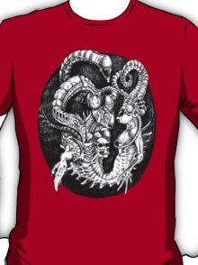 Inspired by Giger Non transparent. T-Shirt