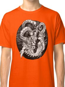 Inspired by Giger Non transparent. Classic T-Shirt