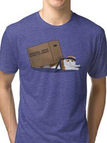 Mewtal Gear Solid Tri-blend T-Shirt