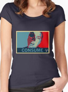 Consume Women's Fitted Scoop T-Shirt