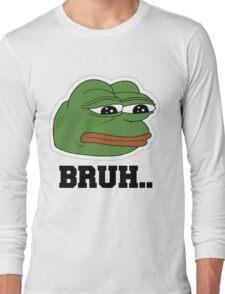 pepe the frog Long Sleeve T-Shirt