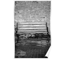lone seat Poster