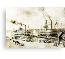 Mississippi Canvas Print