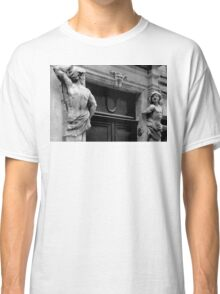 WELL GUARDED DOORWAY (CARD) Classic T-Shirt