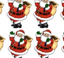 Santa ( multiple ) Sticker