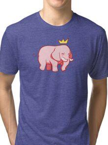 Pink Elephant Tri-blend T-Shirt