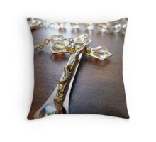 Rosary Perspective Throw Pillow