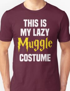 This Is My Lazy Muggle Costume T-Shirt