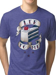 """Lie To Me"" Tri-blend T-Shirt"
