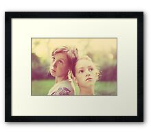 My Girls Framed Print