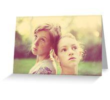 My Girls Greeting Card