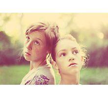 My Girls Photographic Print