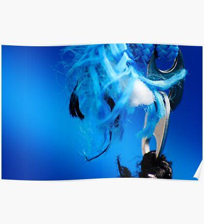 Blue Frey Poster