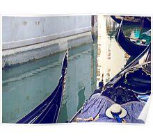 Gondolas in Venice, Italy Poster