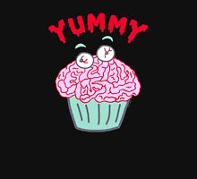Brain Cupcake For Zombies  Women's Fitted Scoop T-Shirt