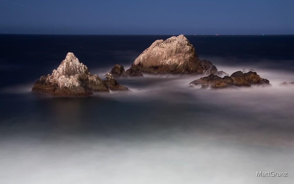 Night at Seal Rock by MattGranz