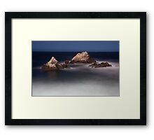 Night at Seal Rock Framed Print