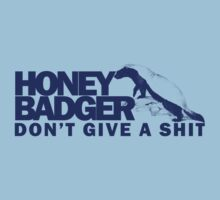 Honey Badger Don't Give a Shit by personalized