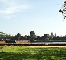 Cambodia. Angkor Wat , Siem Reap 1 by Feesbay