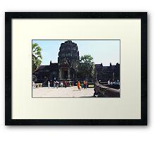 Cambodia. Angkor Wat , Siem Reap 2 Framed Print