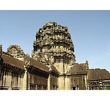 Cambodia. Angkor Wat , Siem Reap 3 Photographic Print