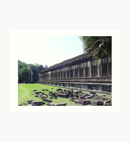 Cambodia. Angkor Wat , Siem Reap 5 Art Print
