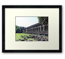 Cambodia. Angkor Wat , Siem Reap 5 Framed Print