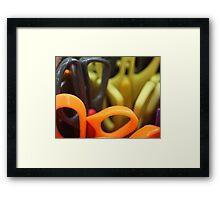 Scissors at rest Framed Print