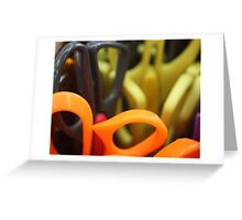 Scissors at rest Greeting Card