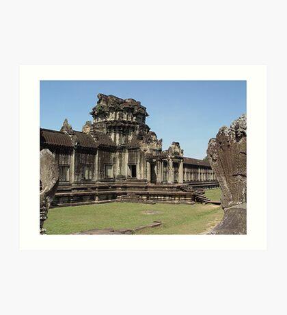 Cambodia. Angkor Wat , Siem Reap 8 Art Print