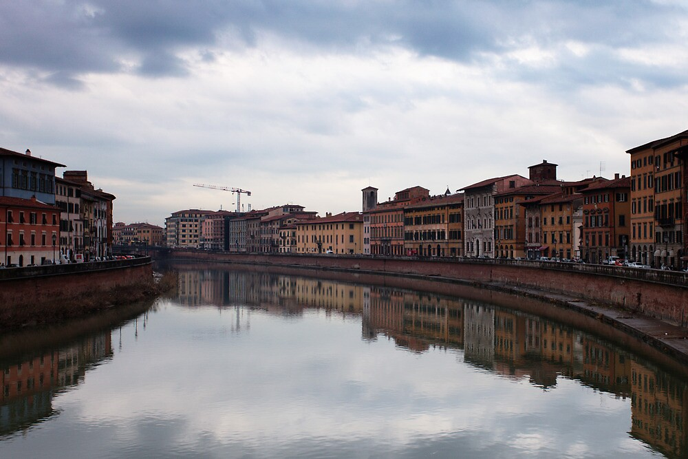 Quay in Pisa by Sergey Martyushev