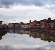 Quay in Pisa by Sergey Martyushev